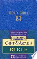 Gift   Award Bible NRSV
