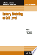 Battery Modeling at Cell Level