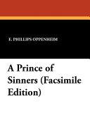 A Prince of Sinners  Facsimile Edition Book PDF