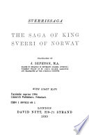 Saga of King Sverri of Norway  Sverrisaga