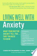 Ebook Living Well with Anxiety Epub Carolyn Chambers Clark Apps Read Mobile