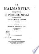 Il Malmantile racquistato di Perlone Zipoli colle note di Puccio Lamoni e d altri  Tomo 1    4
