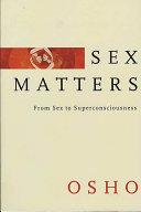 download ebook sex matters pdf epub