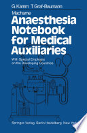 Machame Anaesthesia Notebook for Medical Auxiliaries