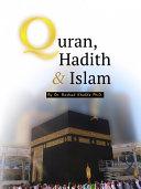 Quran  Hadith  and Islam