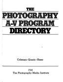 The Photography A-V program directory