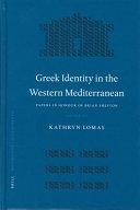 Greek Identity in the Western Mediterranean