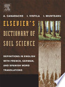 Elsevier s Dictionary of Soil Science