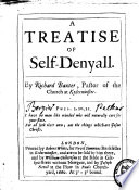 A Treatise Of Selfdenyall