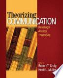 Theorizing Communication