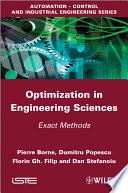 Optimization in Engineering Sciences