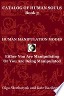 Human Manipulation Modes