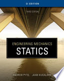 Engineering Mechanics  Statics   SI Version