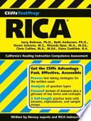 CliffsTestPrep RICA