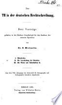 Das TH in der deutschen Rechtschreibung