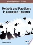 Methods And Paradigms In Education Research
