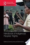 Handbook of Indigenous Peoples  Rights