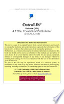 Doctor A  T  Still  Founder of Osteopathy