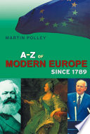 An A Z of Modern Europe Since 1789