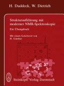 Strukturaufklärung mit moderner NMR-Spektroskopie