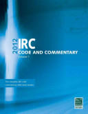 2012 IRC Code and Commentary
