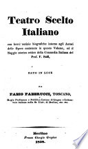 Teatro scelto italiano