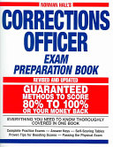 Normal Hall s Corrections Officer Exam Preparation Book
