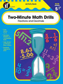 Two Minute Math Drills Grades 5 And Up book