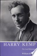 Harry Kemp The Last Bohemian