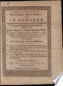 Horti hesperidum mythologica ex  g  seis illustrati  et in honorem ingenuorum     virorum iuvenum  numero 15
