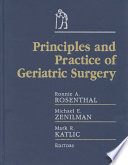 Principles And Practice Of Geriatric Surgery book