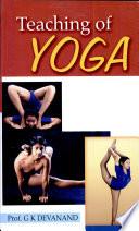 Teaching of Yoga