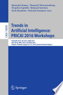 Trends In Artificial Intelligence Pricai 2016 Workshops