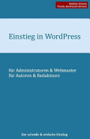 Einstieg In Wordpress 4 1
