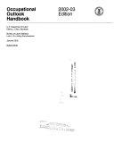 occupational outlook handbook 2002 03