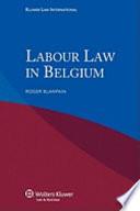 Labour Law in Belgium