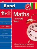 Bond 10 Minute Tests 10-11 Years Maths