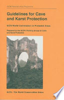 Guidelines for Cave and Karst Protection