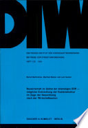 Bauwirtschaft im Gebiet der ehemaligen DDR