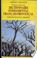 Dictionnaire fondamental français-provençal