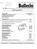 DEP Bulletin