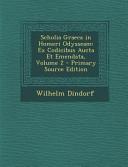 Scholia Graeca in Homeri Odysseam