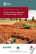 Conflict sensitive adaptation to climate change in Africa