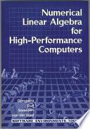 Numerical Linear Algebra on High Performance Computers