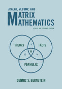 Scalar  Vector  and Matrix Mathematics