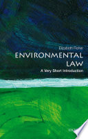 Environmental Law  A Very Short Introduction