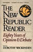 The New Republic Reader