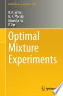 Optimal Mixture Experiments