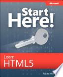 Start Here Learn Html5 book