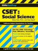 CliffsTestPrep CSET  Social Science